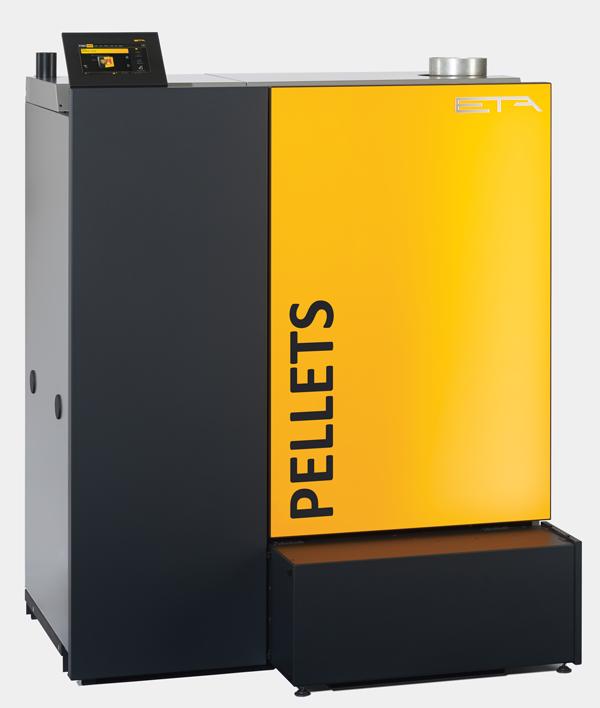 ETA PC PelletsCompact - Den starka lilla pelletspannan för större byggnader